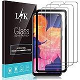 LϟK 3 Pack Protector de Pantalla Compatible con Samsung Galaxy A10 - HD Cristal Vidrio Templado - Dureza 9H Funda Compatible
