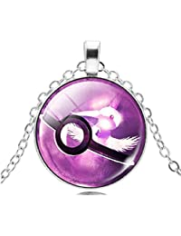 Inception Pro Infinite ♚ Pkmn2 - Pokemon Pokeball empuje Collar de la bola Ir trampa - Niños y Jóvenes - Idea regalos