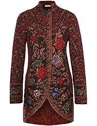 81512 Ivko Embroidered Jacket black Gr.38-44