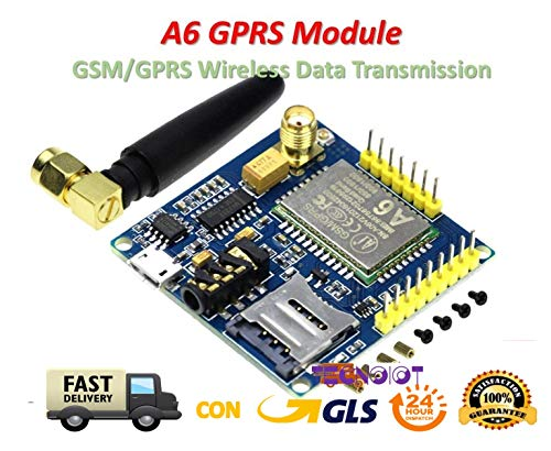 A6 GPRS Module Development Board GSM GPRS Wireless Transmission Super SIM900A |A6 GPRS-Modul Entwicklungsboard GSM GPRS Funkübertragung Super SIM900A -