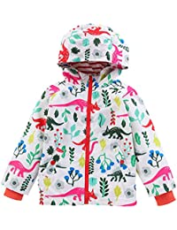 IPBEN Printed Raincoats, Chaqueta Impermeable para Niñas