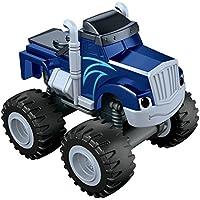 Blaze y los Monster Machines de Nickelodeon - Coche Crusher, Color Azul (Mattel CGF22)