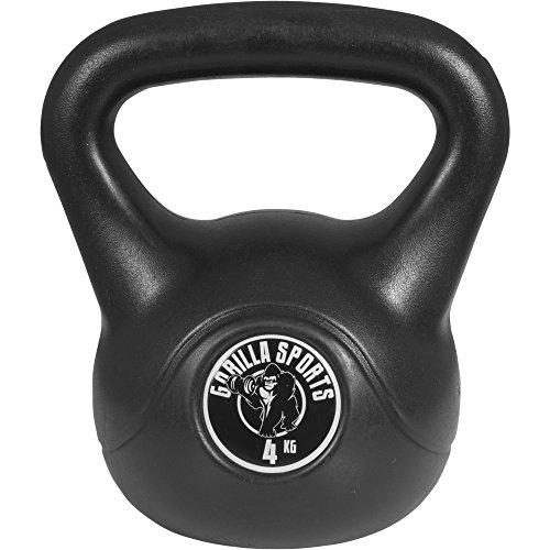 Gorilla Sports Kettlebell Cement, 4 kg, 10000342;16
