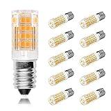Ascher® 10er-Pack E14 5W 51x2835 SMD LED Lampe (vgl. 30W Halogen) 350 Lumen - E14 LED warmweiß- AC 220V-240V - LED Leuchtmittel 360°