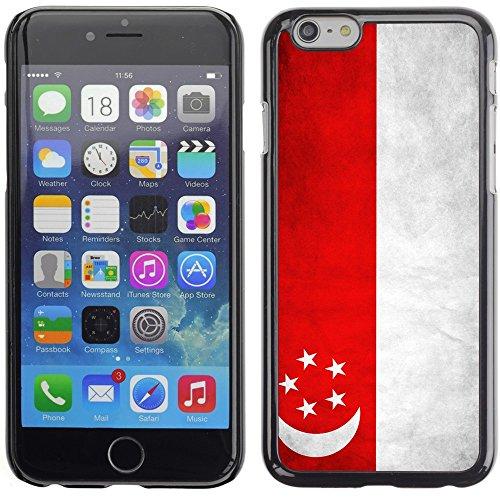 Graphic4You Vintage Uralt Flagge Von Philippinen Philippinische Design Harte Hülle Case Tasche Schutzhülle für Apple iPhone 6 Plus / 6S Plus Singapur