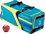 Kookaburra Pro 600 attrezzatura sportiva Team-Borsone con rotelle per Kit Borsa da Cricket per uomo