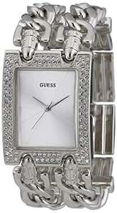 Guess - W95088L1 - Montre Femme - Quartz - Analogique - Bracelet Argent