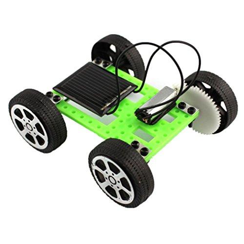 (Sonnena Spielzeugauto,1 Set Mini Solarbetrieben Auto DIY Set Mini Auto Spielzeug Modellauto Lernspielzeug Kind Geschenke Baby Hobby Lustig Hobby Lustig (8*7.5*3.2cm))