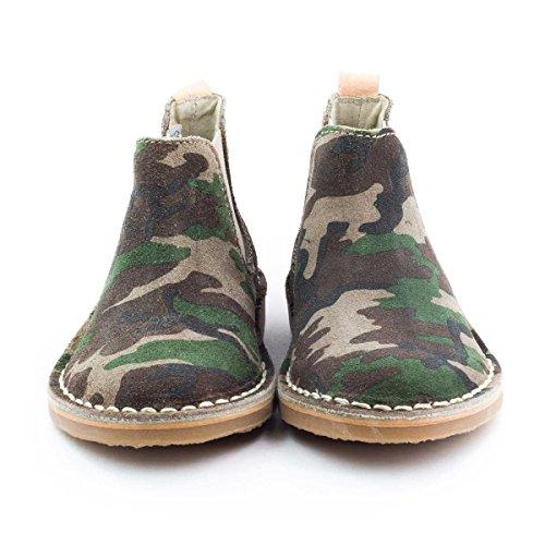 Boni Camouflage - chaussure garçon Multicolore