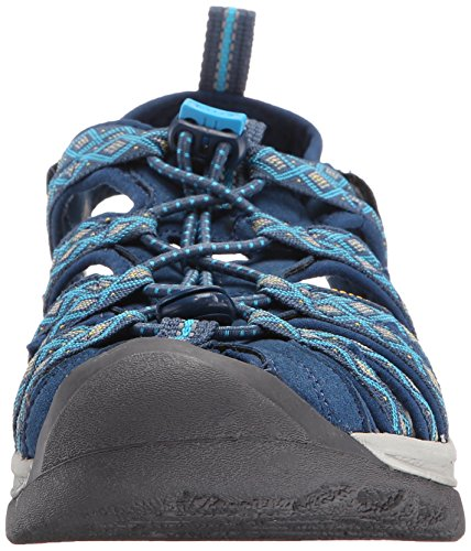 brand new e32a8 a862c Keen Women's Whisper Hiking Sandals, Blue (Poseidon/Blue ...