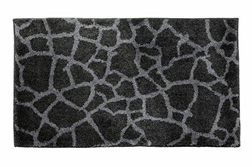 SCHÖNER WOHNEN-Kollektion, Mauritius, Badteppich, Badematte, Badvorleger, Design Steine -