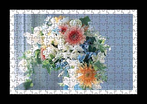 puzzle-style-pre-assembles-imprimer-mur-de-flowers-bouquet-buds-leaves-window-light-by-lisa-loft