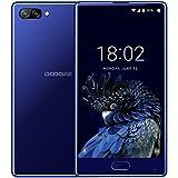 Telephone Portable Debloqué, DOOGEE MIX Smartphone 4G (Écran: 5,5 Pouce Super AMOLED - Helio P25 Octa Core 2.5G - 4Go + 64Go - 16MP + 5MP Double Caméras - Empreinte Digitale - 3580mAh Avec Charge Rapide - Double SIM - Android 7.0) Bleu