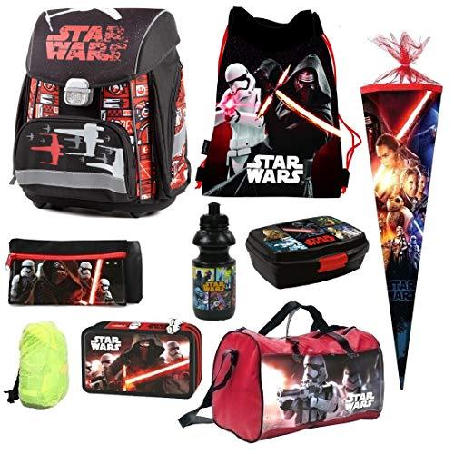 Star Wars Clone 9 Teile R Schulranzen Ranzen Tornister Schultüte 85 Rucksack Tasche Set