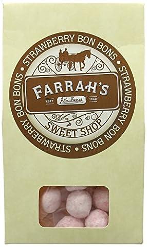 Farrah's of Harrogate Strawberry Bon Bons Candy Boxes 125
