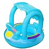 Piscina per bambini Galleggianti, SW-Ning Spiaggia gonfiabile per bebè, piscina, tenda da sole, piscina, acqua, divertimento estivo per i bambini
