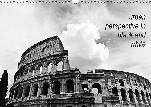 urban perspective in black and white (Wandkalender 2019 DIN A3 quer): Stadt- und Landschaftsaufnahmen in schwarz-weiß (Monatskalender, 14 Seiten ) (CALVENDO Orte)