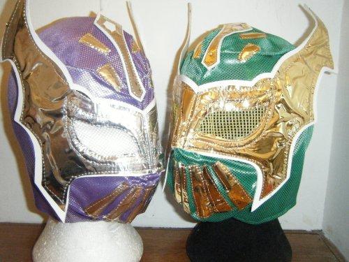 zwei Kinder sin cara Wrestling Masken