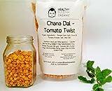 #9: Healthy Buddha Organic Roasted Chana Dal - Tomato Twist (450GR) Pack of 3