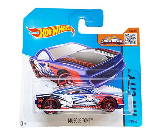 Mattel Hot Wheels - HW City 70/250 - Muscle Tone on Short Card
