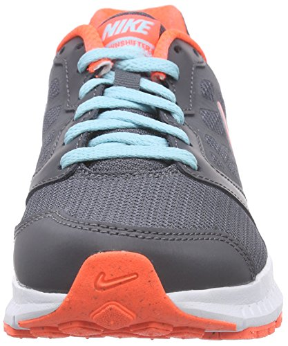 Nike Wmns Downshifter 6 Scarpe da Ginnastica, Donna Grigio (Dark Grey/Copa-Hyper Orange-White-Hyper Orange)