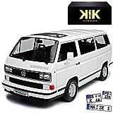 KK-Scale Volkwagen T3 Bus Multivan White Star Weiss Transporter 1979-1992 limitiert 1 von 500 Stück 1/18 Modell Auto