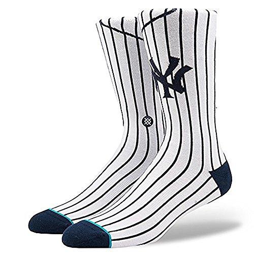Stance New York Yankees Home Jersey MLB Socken Weiß, M