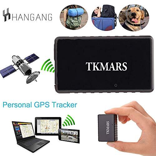 Hangang Mini GPS Tracker, Tkmars GPS para Coche Localizador en Tiempo Real...