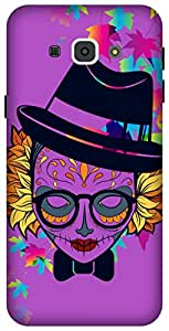 The Racoon Grip printed designer hard back mobile phone case cover for Samsung Galaxy A8. (Fearsome C)