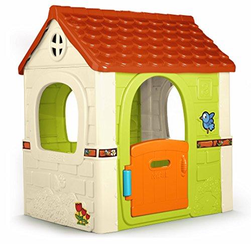FEBER Casa de Juegos con Puerta abatible, 4 mas, Color (Famosa 800010237)