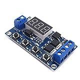 Rokoo Triggerzyklus-Verzögerungsschalter 12 24-V-Leiterplatte MOS-Röhren-Steuermodul