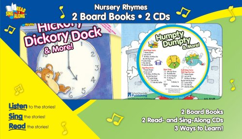 Nursery Rhymes Twin Pack: Humptty Dumpty & More! / Hickory Dickory Dock & More! (Read & Sing Along) -