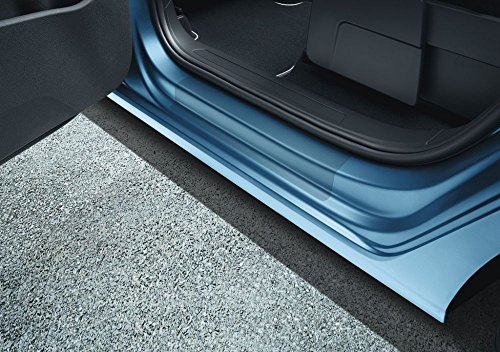 Preisvergleich Produktbild Schutzfolie Einstiegsleisten Original VW Touran II (MQB,  ab 2015) transparent hinten 2-teilig 5TA071310A908