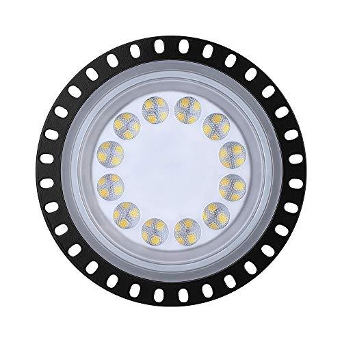Hohes Bucht-Licht 50W UFO LED, Tageslicht-weiße IP65-wasserdichte Handelsbucht-Beleuchtung, hohe Bucht 220V führte Geschäfts-Lichter für Garagen-Scheunen-Werkstatt-Lager-Wohn.