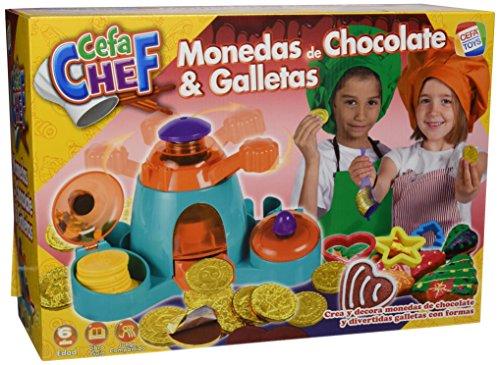 Cefa Chef - Monedas de Chocolate y Galletas, Juego de comiditas en Min