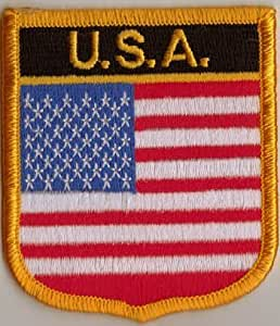 USA Country Flag Embroidered Patch T7
