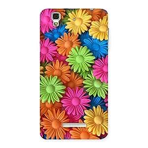 Art Sunflower Print Back Case Cover for Yu Yureka