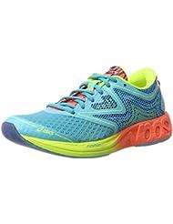Asics Noosa FF, Zapatillas de Deporte para Mujer, Azul (Aquarium / Flash Coral / Safety Yellow), 39 EU