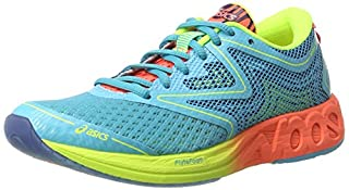 ASICS Noosa FF, Chaussures de Running Femme, Multicolore (Aquarium/Flash Coral/Safety Yellow), 37.5 EU (B01N3CI6JV) | Amazon price tracker / tracking, Amazon price history charts, Amazon price watches, Amazon price drop alerts