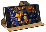 mumbi Ledertasche im Bookstyle für Huawei P9 Tasche