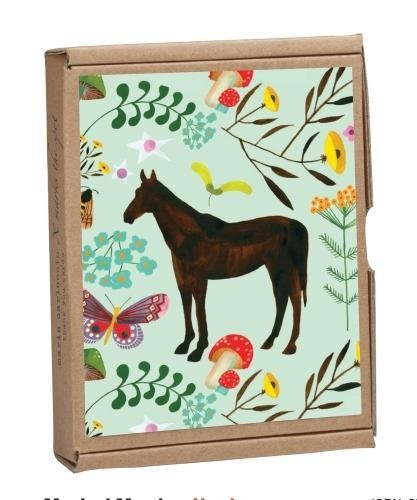 Magical Meadow Greennotes Notecard Set: Full-color, Eco-friendly, All Occasion Butterfly Meadow Box