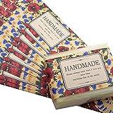Wakehurst Klebeetiketten für handgefertigte Seife Bar Verpackung Kraft Geschenkboxen Mohnblume