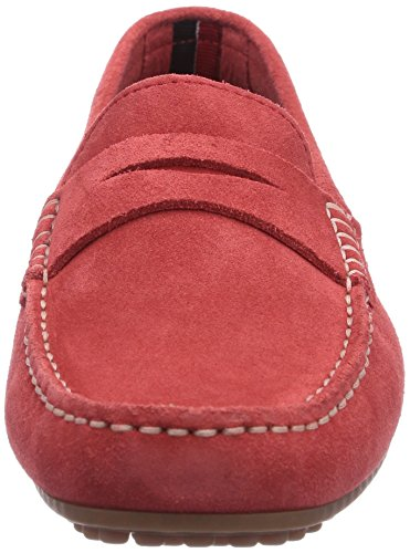 Tommy Hilfiger KENDALL 6B, Mocassini donna Rosso (Rot (HISBISCUS 255))