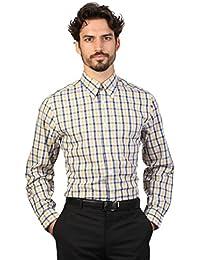 Brooks Brothers - Chemise à carreaux à manches longues - Homme