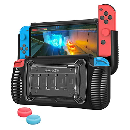 SZMDLX Custodia protettiva per Nintendo Switch Cover Protettiva TPU Anti Graffio Urti Compatibile con Nintendo Switch Console JoyCons con 2pcs