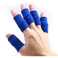 Andux Zone 10PCS Elastische Fingerhülle Schutz Finger Fingerstütze JT-01 Blau preisvergleich bei billige-tabletten.eu