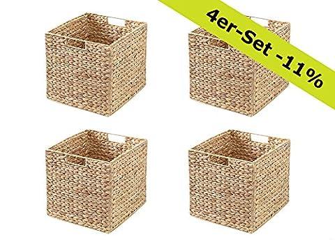 Ikea Kallax Regal Korb (4er-Set) / Wasserhyazinthe