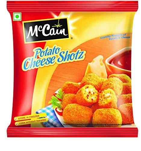 McCain Potato Cheese Shotz, 400g (Regular Pack)