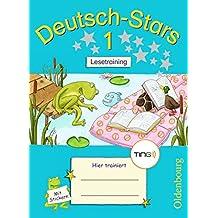 Deutsch-Stars - TING-Ausgabe: 1. Schuljahr - Lesetraining: Übungsheft. Mit Lösungen