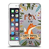 Head Case Designs Fuchs Seelen Tiere Abbildungen Soft Gel Hülle für iPhone 6 Plus/iPhone 6s Plus